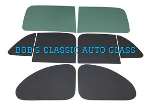 1941 1942 1946 1947 1948 Ford 5 Window Business Coupe Classic Auto Glass Flat