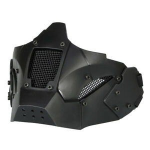 Warrior Half Face Mask With Fast Helmet Military Protect Cycling Outdoor