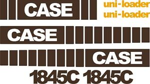 Case 1845c Replacement Decals Sticker Decal Kit Mid