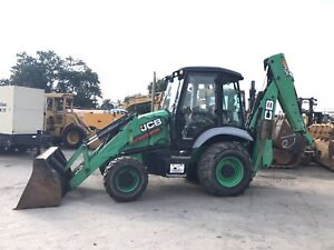 2011 Jcb 3cx Backhoe Loader 4x4 Enclosed Cab E stick