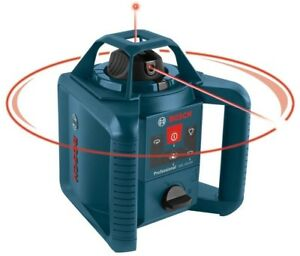 Bosch Self Leveling Rotary Laser Level 800 Ft 5 Piece Horizontal Vertical