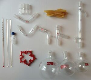 Chemistry Lab Glassware Kit 21 Pcs 24 29