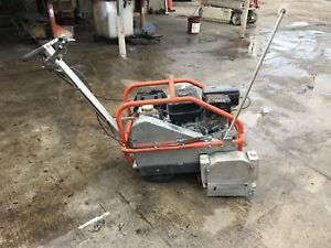 Husqvarna Soff cut 2000 Walk Behind Concrete Saw