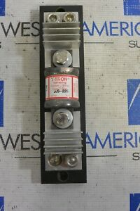 Bussmann T tron Jjs 225 225a Current Limiting Class T Fuse With Block