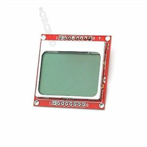 10pcs 84x84 Lcd Module White Backlight Adapter Pcb For Nokia 5110 Cq