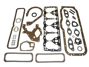 Full Engine Overhaul Gasket Set 1952 1956 Willys Jeep 161 Ci F head 6 cylinder