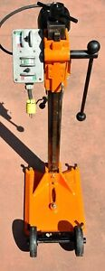 Core Bore Drill Rig M1 Anchor Base 2 Speed Cb 748 Power Unit 20 Amp Water Usa