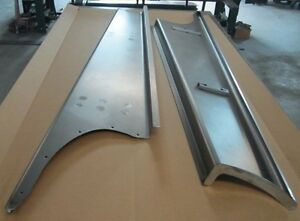 New 1942 Chevy gmc Truck 1 2 Ton Smooth Steel 16g Running Boards Hot Rod Street