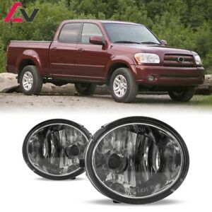 For Toyota Tundra 00 06 Clear Lens Pair Bumper Fog Light Lamp Wiring Switch Kit