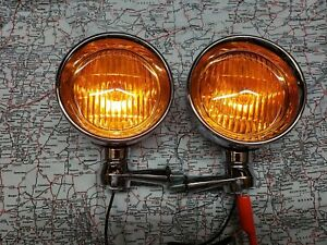 1953 1954 1955 1956 Ford Asseccery Fog Lights Road Lamps