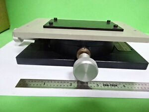 Microscope Part Wyko Interferometer Tip Tilt Table Stage Optics As Is Bin ae 02