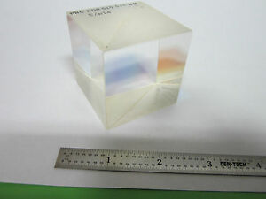 Optical Large Cube Beam Splitter Laser Optics Bin 8c