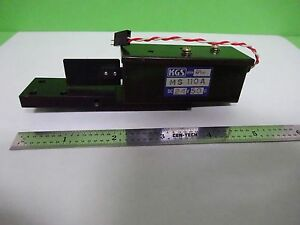 Optical Kgs Shutter Solenoid Actuator Laser Optics As Is Bin y2 40