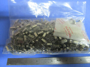 Lot 500 Ea Quartz Crystal Frequency 5 Mhz Mmd Hc 49 New