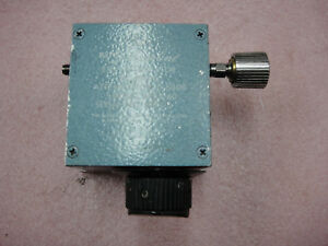 Narda 4703 60 Dc 18 Ghz Step Attenuator