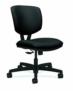 New Hon Volt Synchro tilt Task Chair For Office Or Computer Desk Black Fabric