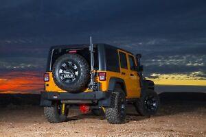 Arb Full Rear Bumper With Tire Carrier Mount 5650370 For 2007 15 Jeep Wrangler
