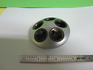 Microscope Part Leitz Nosepiece As Is Bin 8x b 2