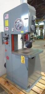 20 Doall Vertical Band Saw No 2013 10 13 Under Guide 55 5200fpm 26x26 29348