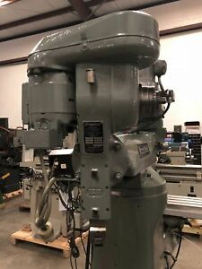Bridgeport e Slotting Shaping Attachment Head 115v Single Phase Gmt 1692