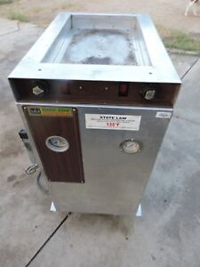 Cres Cor Hot Holding Cabinet top Hot Plate Food Transfer Cabinet