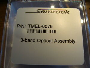 New Semrock 3 band Optical Assembly pn Tmel 0076