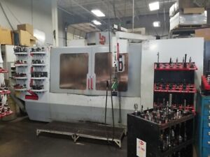 Used Haas Vf 7 Cnc Vertical Machining Center Mill Ct40 32 Tool Vmc Machine 1999