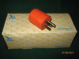 Eagle Electric Plastic Grounding Plugs 10 Pack 15a 125v 2 pole 3 wire