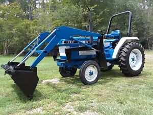 Ford New Holland 1720 Loader Tractor 2 W Drive W 3 Point Hitch Pto Diesel