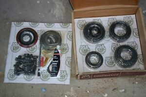 Dana 80 1 Ton Rearend 3 54 Ring And Pinion Master Install Gear Pkg