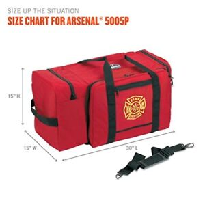 Arsenal Gb5005p Firefighter Gear Bag Free Shipping