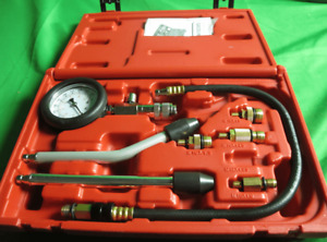 Fit Gasoline Compression Tester 9 Pcs Kit used