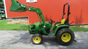 2018 John Deere 3025e 4x4 Compact Tractor W Loader Only 19 Hrs Factory Warranty
