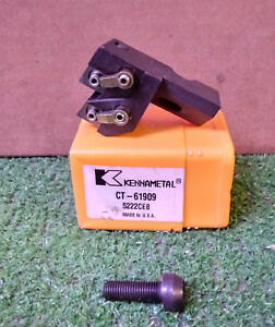 1 New Kennametal Ct 61909 Carbide Insert Lathe Tool Holder