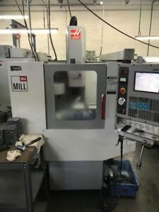 Used Haas Mini Mill Cnc Vertical Machining Center 10 Atc Ct 40 16x20 Machine 04