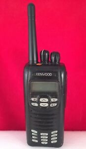 Kenwood Nx 300 K 3 Uhf 450 512 Mhz Radio With Battery Antenna And Charger