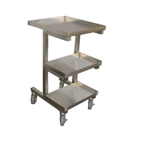 Stainless Steel Sauce Cart For Chinese Wok Range 19 1 2 X 22 1 2