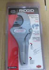 Ridgid 1 8 In To 2 3 8 In Rc 2375 Ratchet Action Plastic Pipe And Tubing 47a