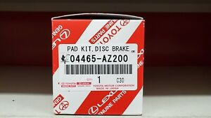 Toyota Tundra 2000 2006 Front Genuine Oem Ceramic Brake Pads W Shims 04465 Az100