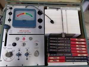 Rca Wt 110a Automatic Electron Tube Tester Cardmatic Free Shipping In Conus