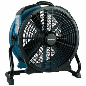 Xpower X 47atr X 47atr Pro 3 600cfm Axial Air Mover dryer fan With Timer