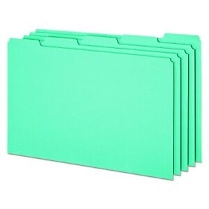 Pendaflex File Guides With Blank Tabs Legal Size Blue Pressboard 50 Per Box