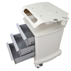 Abs Plastic New Mobile Trolley Cart For Ultrasound Imaging Scanner