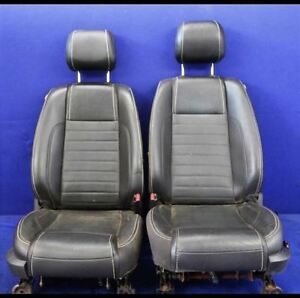 2010 2014 Ford Mustang Gt Leather Front Pair Bucket Seats Hot Rod