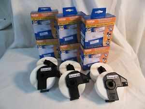 6 Rolls Genuine Brother Dk 1201 P touch 29mm X 90mm 1 1 X 3 5 2400 Labels