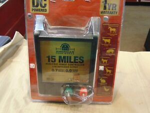 American Farm Works 15 Miles Electric Fence Controller Brand New