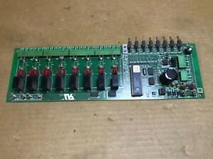 Com trol Mcs 4000 40ab503g01 Relay Output Card Board 8 channel