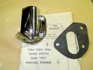 Nos L 1964 65 66 Buick Special F85 Olds Unity Spotlight Bracket Kit 180 L