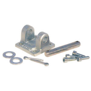 Speedaire Plated Steel Double Rear Clevis 40mm Bore D5040