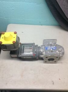 Roots Emerson 8c Rotary Gas Meter Submeter tenant resteraunt